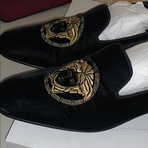 Versace Medusa Loafers.